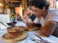 """Another healthy option - fresh stews such as the """"Caldo Gallego"""" famous of Galicia."""